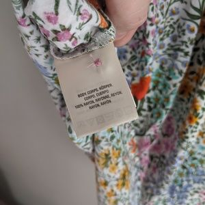 Anthropologie Tops - Conversations By Anthropologie Floral Tee Shirt